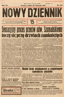 Nowy Dziennik. 1937, nr325