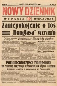 Nowy Dziennik (wydanie wieczorne). 1937, nr325