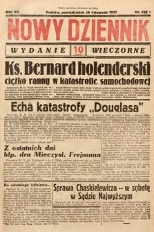 Nowy Dziennik (wydanie wieczorne). 1937, nr328