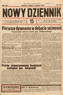 Nowy Dziennik. 1937, nr332