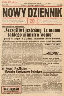Nowy Dziennik. 1937, nr333