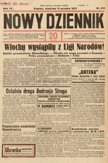Nowy Dziennik. 1937, nr341