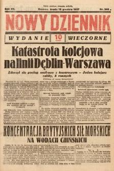 Nowy Dziennik (wydanie wieczorne). 1937, nr344