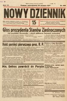 Nowy Dziennik. 1937, nr349
