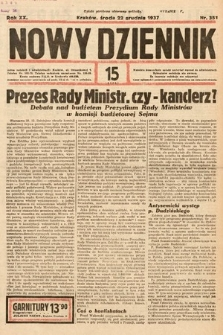 Nowy Dziennik. 1937, nr351