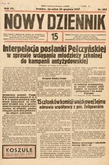 Nowy Dziennik. 1937, nr352