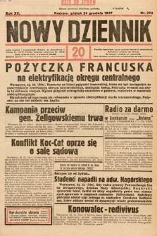 Nowy Dziennik. 1937, nr353