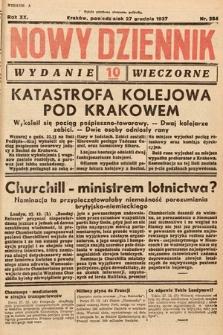 Nowy Dziennik (wydanie wieczorne). 1937, nr354