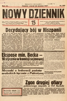 Nowy Dziennik. 1937, nr355