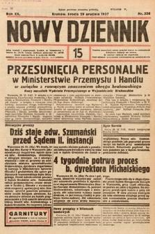 Nowy Dziennik. 1937, nr356