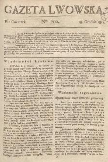 Gazeta Lwowska. 1817, nr202