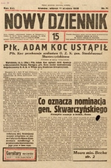 Nowy Dziennik. 1938, nr11