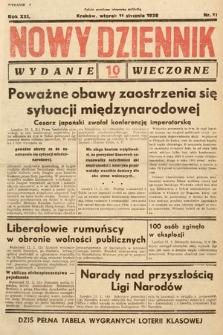 Nowy Dziennik (wydanie wieczorne). 1938, nr11
