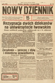 Nowy Dziennik. 1938, nr13