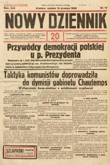 Nowy Dziennik. 1938, nr15