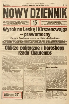 Nowy Dziennik. 1938, nr20