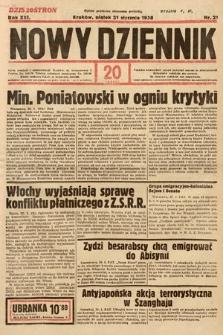 Nowy Dziennik. 1938, nr21