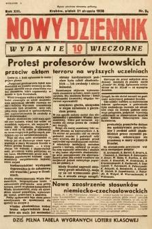 Nowy Dziennik (wydanie wieczorne). 1938, nr21