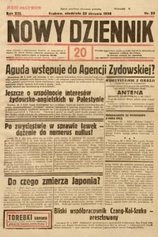 Nowy Dziennik. 1938, nr23