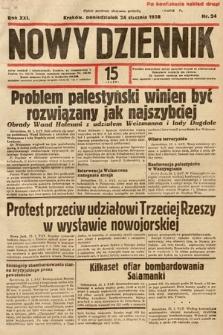 Nowy Dziennik. 1938, nr24
