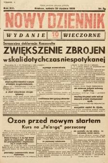 Nowy Dziennik (wydanie wieczorne). 1938, nr29