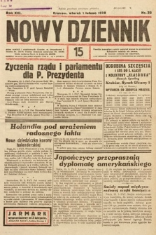 Nowy Dziennik. 1938, nr32