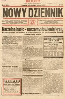 Nowy Dziennik. 1938, nr37