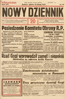 Nowy Dziennik. 1938, nr43