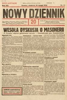 Nowy Dziennik. 1938, nr51