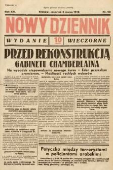 Nowy Dziennik (wydanie wieczorne). 1938, nr62