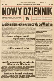 Nowy Dziennik. 1938, nr73