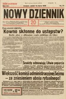 Nowy Dziennik. 1938, nr77