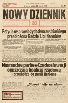 Nowy Dziennik. 1938, nr84