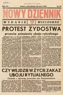 Nowy Dziennik. 1938, nr87