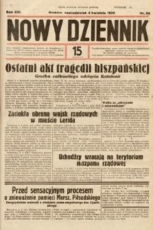 Nowy Dziennik. 1938, nr94
