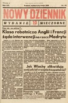 Nowy Dziennik (wydanie wieczorne). 1938, nr98