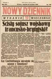 Nowy Dziennik (wydanie wieczorne). 1938, nr109