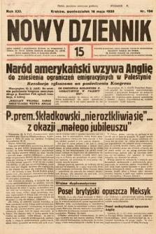 Nowy Dziennik. 1938, nr134