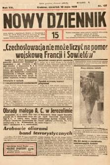 Nowy Dziennik. 1938, nr137