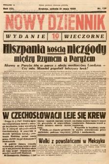 Nowy Dziennik (wydanie wieczorne). 1938, nr139