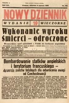 Nowy Dziennik (wydanie wieczorne). 1938, nr157
