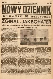 Nowy Dziennik (wydanie wieczorne). 1938, nr177