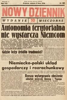 Nowy Dziennik (wydanie wieczorne). 1938, nr180