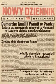 Nowy Dziennik (wydanie wieczorne). 1938, nr182