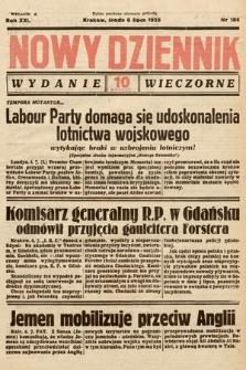 Nowy Dziennik (wydanie wieczorne). 1938, nr184