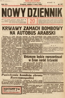 Nowy Dziennik. 1938, nr187