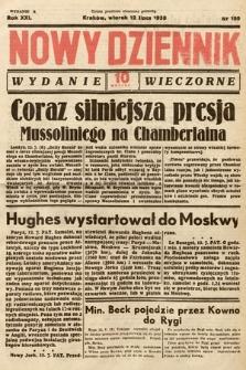 Nowy Dziennik (wydanie wieczorne). 1938, nr190