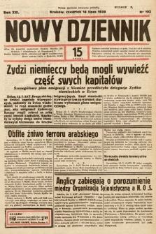 Nowy Dziennik. 1938, nr192