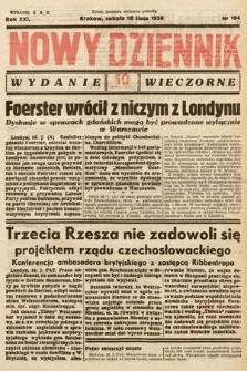 Nowy Dziennik (wydanie wieczorne). 1938, nr194