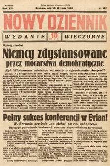 Nowy Dziennik (wydanie wieczorne). 1938, nr197